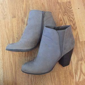 Fergalicious grey booties